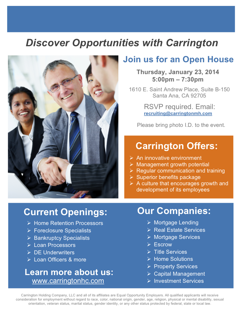Corporate Recruiting Flyers